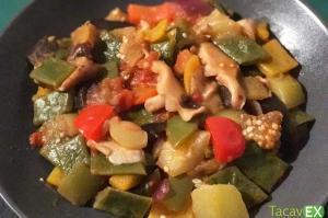 Pisto de verduras. Receta Saludable y Fácil de Preparar.