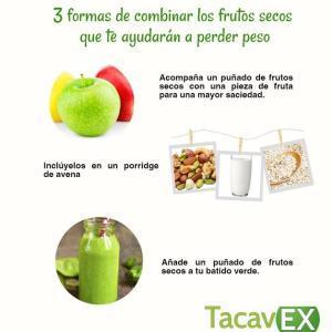 3 Formas de Combinar Frutos Secos. Snacks Saludables.