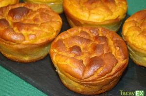 Cupcakes de Zanahoria. Disfruta de este Postre Saludable en el desayuno o merienda.