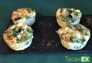 Muffins de Verduras. Snack Salado Saludable.