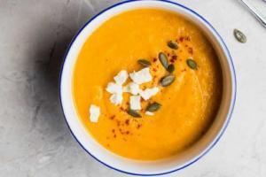 Crema de calabaza, calabacín y zanahoria (cena ligera o primer plato)