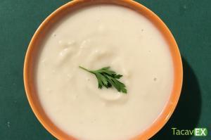 Crema de coliflor y puerro (ligera, depurativa y saludable)