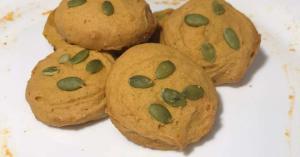 Galletas de calabaza con avena (abizcochadas, deliciosas y saludables)