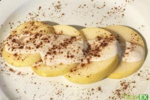 Snack Saludable Dulce Milhojas de manzana. Solo 3 ingredientes.