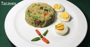 Quinoa con Verduras (comida/cena saludable y sencilla de preparar)