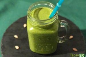 Batido verde de calabaza para adelgazar (sabor pie de calabaza)